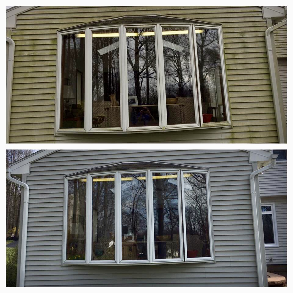 Exterior Window Washing Honey Brooke Pa Out Wash Llc
